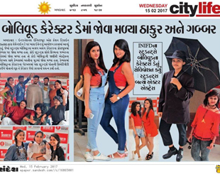 INIFD Ahmedabad – Bollywood Character Day
