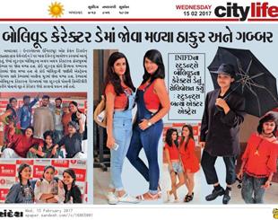 INIFD Ahmedabad – Bollywood Character Day