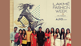 Lakme Fashion Week At Mumbai