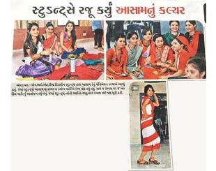 INIFD Ahmedabad – Assam Dress Day