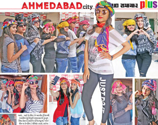 INIFD Ahmedabad – Turban Theme based Friendship day celebration