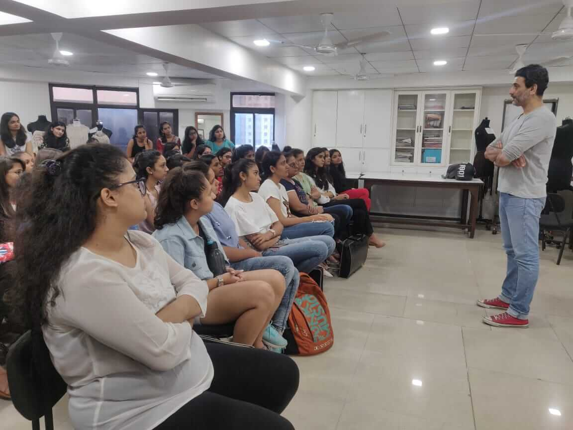 1st yr. Student Interactive session with Mr. Bhavin Trivedi