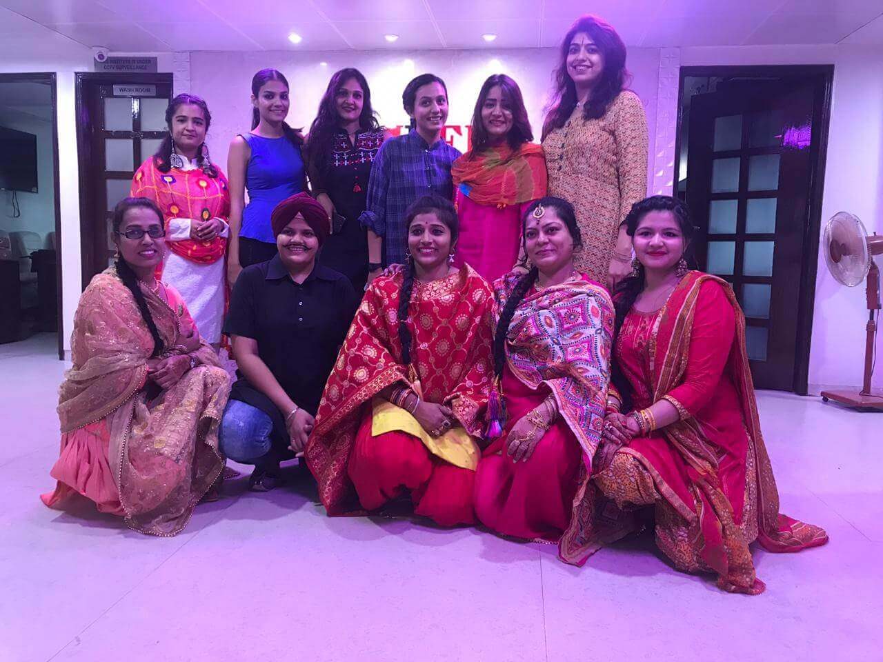 Phulkari Embroidery Art – Presentation by Second Year Students