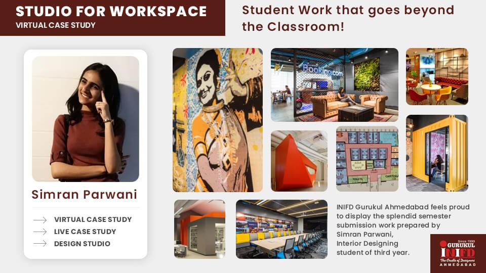 "Studio Design of ""Interior Designing"" by Simran Parwani"