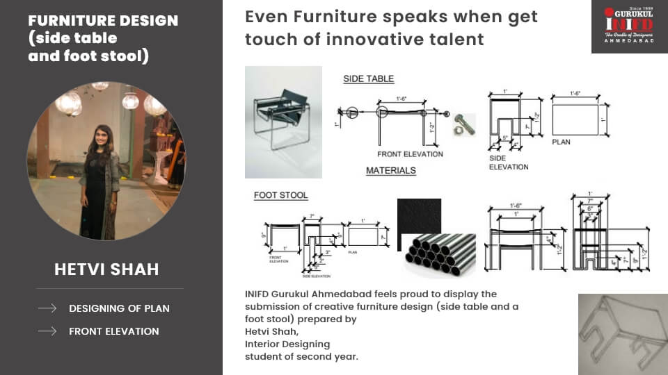 Furniture Case Study by Hetvi Shah