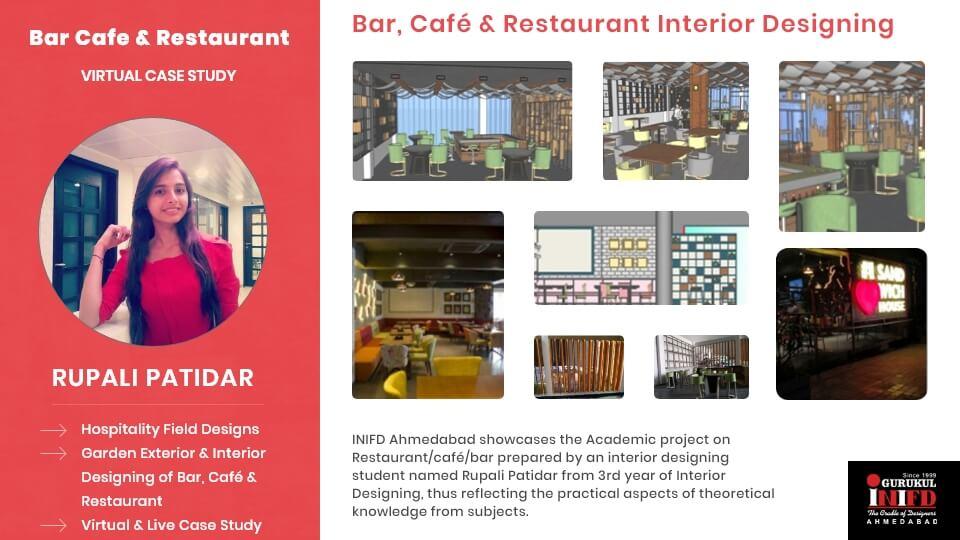 Bar, Cafe & Restaurant Interior Decoration Case Study