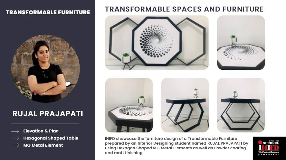 Transformable Furniture Design by Rujal Prajapati