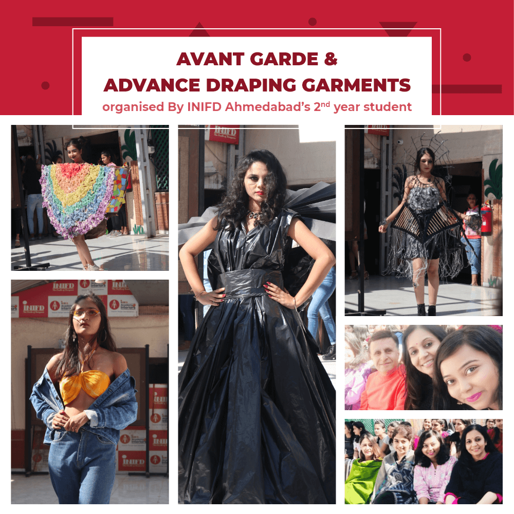 Avant Garde and Advance draping Fashion Show