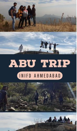 Memorable Trip of Mount Abu by INIFD Ahmedabad Institute