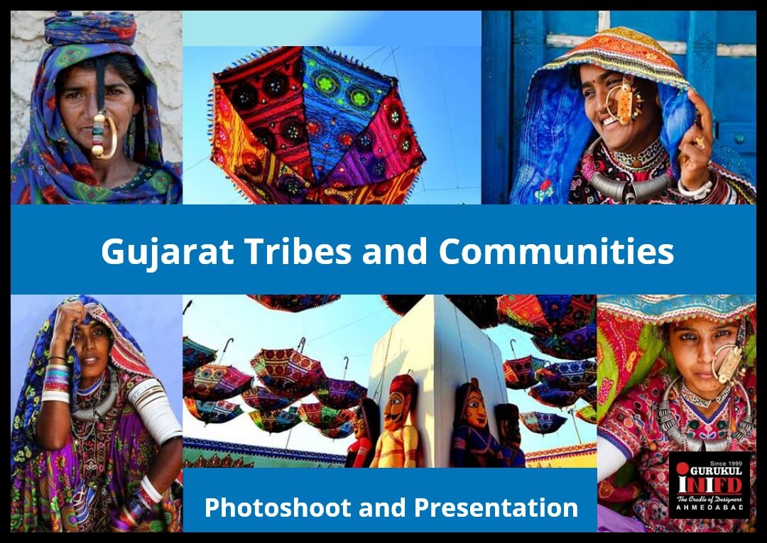 Gujarat Tribes and Communities Styling Photoshoot and Presentation