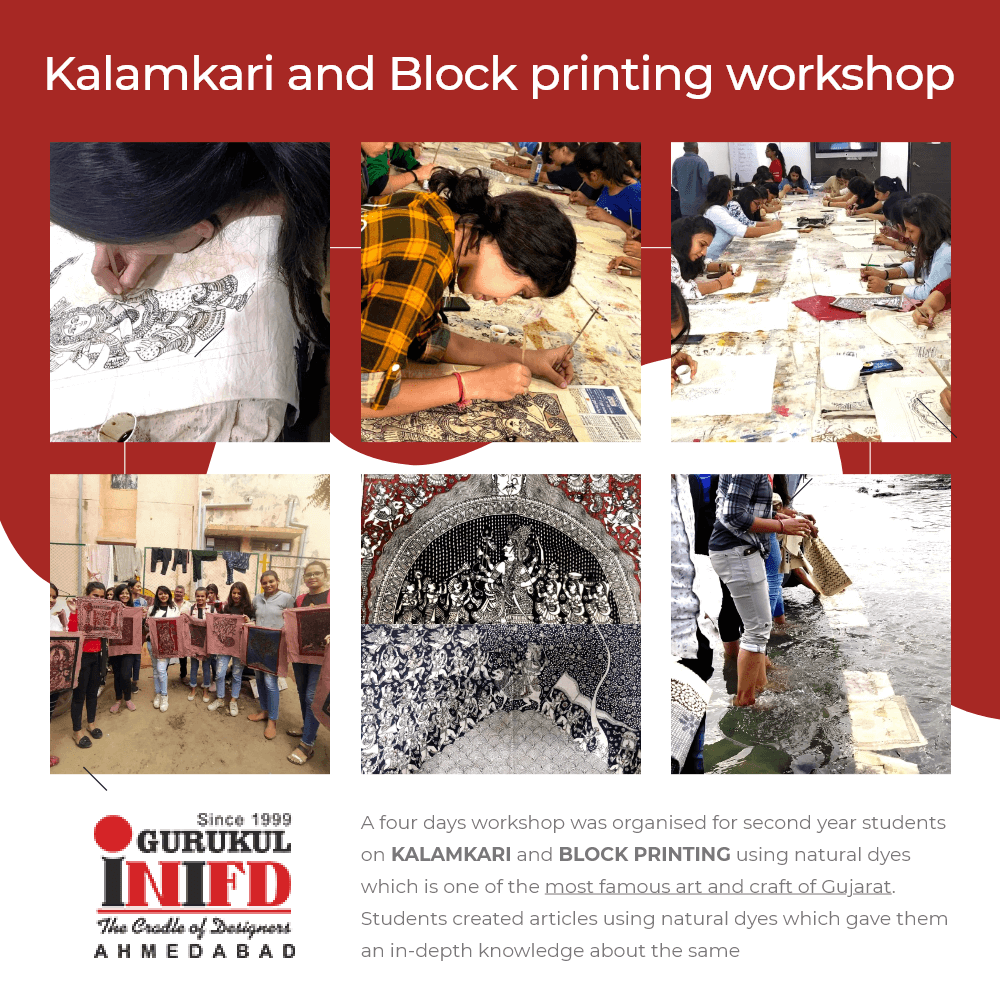 Kalamkari and Block printing workshop