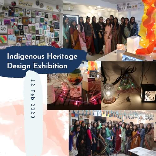 Indigenous Heritage Design Exhibition at iNIFD Gurukul Ahmedabad